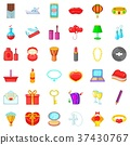 birthday, icon, cartoon 37430767