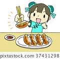 교자, 만두, 군만두 37431298