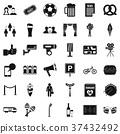 theatre, icon, simple 37432492