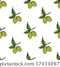olive, seamless, vector 37433097