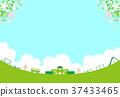 樱花 樱桃树 学校 37433465