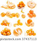 Orange Fruit Background. Summer Oranges. Healthy 37437113