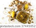 Buckwheat soup ,potato, dried buckwheat,mushrooms. 37445052