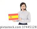 국기 교환 원 37445128