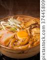 锅炒乌冬 煮味噌汤的 乌冬 37445809