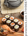 food, sushi, shrimp 37449687