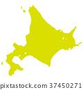 홋카이도, 북해도, 지도 37450271