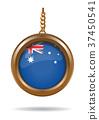 National Flag of Australia 37450541