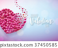 valentine, love, vector 37450585
