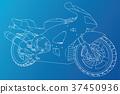 motorcycle, motorbike, bike 37450936