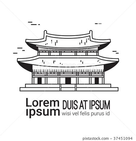 Famous Seoul Landmark Traditional Korean Palace 37451094