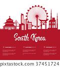 korea vector tourism 37451724