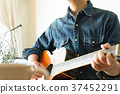 guitar, guitars, person 37452291