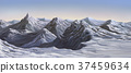 mountain landscape snow 37459634