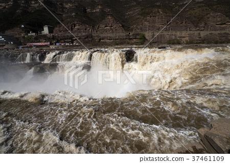 壼口瀑布 黄河 君不見黄河之水上來 37461109
