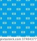 Futsal or indoor soccer field pattern seamless blue 37464377