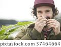 農業蔬菜收穫外國人男子 37464664