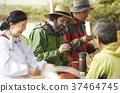 農業休息午餐外國人 37464745