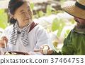 農業休息午餐外國人 37464753