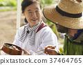 農業休息午餐外國人 37464765