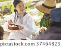 農業休息午餐外國人 37464823