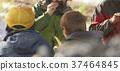 农业休息午餐外国人 37464845