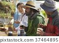 農業休息午餐外國人 37464895
