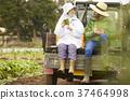 農業打破農夫婦女和外國人 37464998