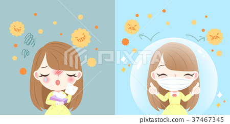 girl with hay fever 37467345