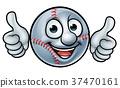 Baseball Ball Mascot 37470161