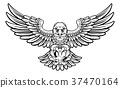 Eagle Soccer Football Mascot 37470164