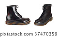 leather vector boots 37470359
