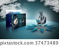 3d, laptop, pc 37473489