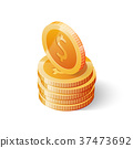 coins coin gold 37473692