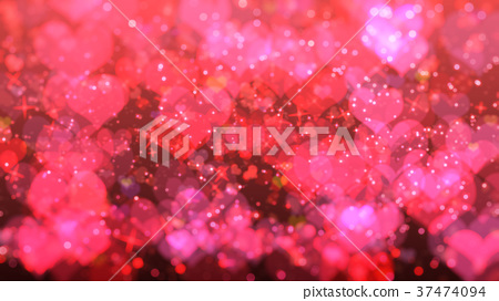 Out of focus blur background, Valentine's day 37474094