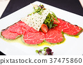 beef, carpaccio, cuisine 37475860