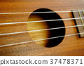 A close-up ukulele. 37478371