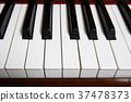 piano keyboard taken close up. 37478373