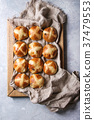 Hot cross buns 37479553