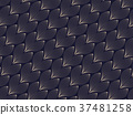 geometric Vector pattern. Modern stylish texture. 37481258