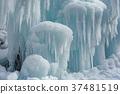 [Nagano Prefecture] Ice pillar of Shiraito Falls 37481519