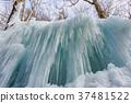 [Nagano Prefecture] Ice pillar of Shiraito Falls 37481522