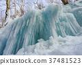 [Nagano Prefecture] Ice pillar of Shiraito Falls 37481523