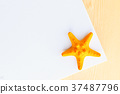 yellow starfish 37487796