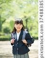 小学生 上学 生活 37488385