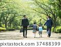 가족 초등학생 통학 통근 입학식 이미지 37488399