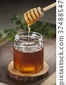 꿀, 벌꿀, 유리병 37488547