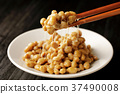 natto, fermented soybeans, stickiness 37490008