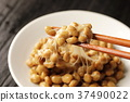 natto, fermented soybeans, stickiness 37490022