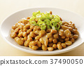 natto, fermented soybeans, japanese food 37490050